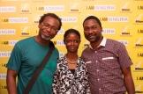 Kelechi & Leke with Africa's 1st Blind Photographer, Taiwo